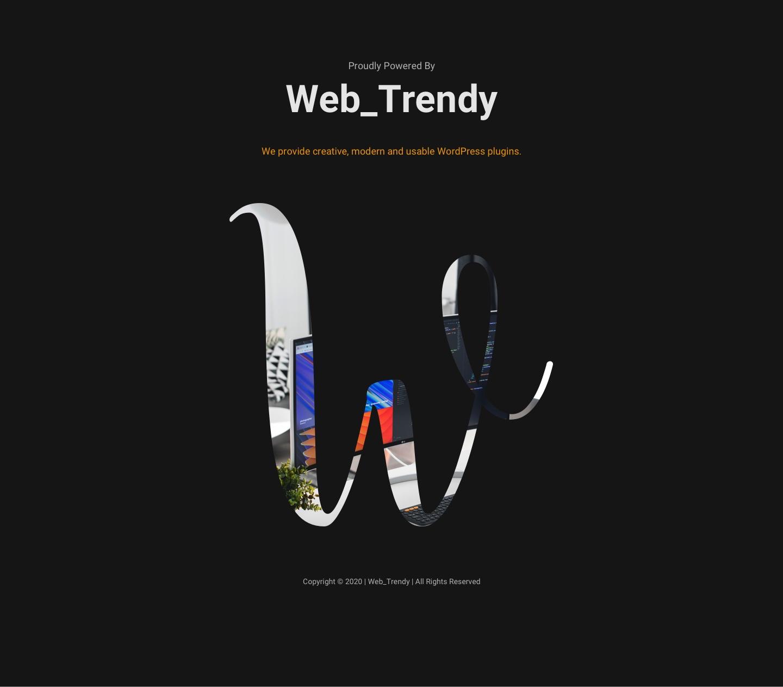 WP Custom Cursor | Author: Web_Trendy