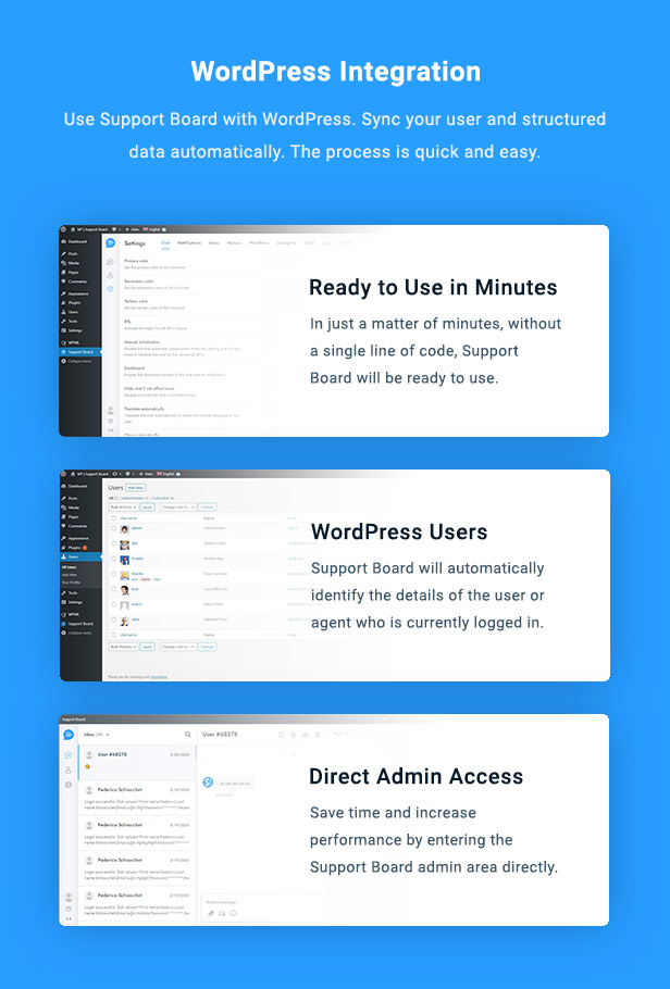 Chat - Support Board - WordPress Chat Plugin - 6
