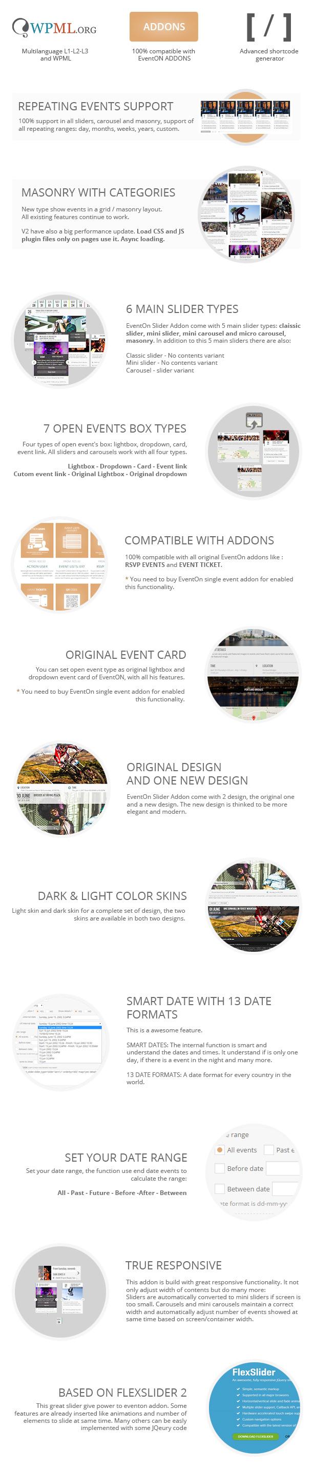 EventOn Slider Addon | Events - 1