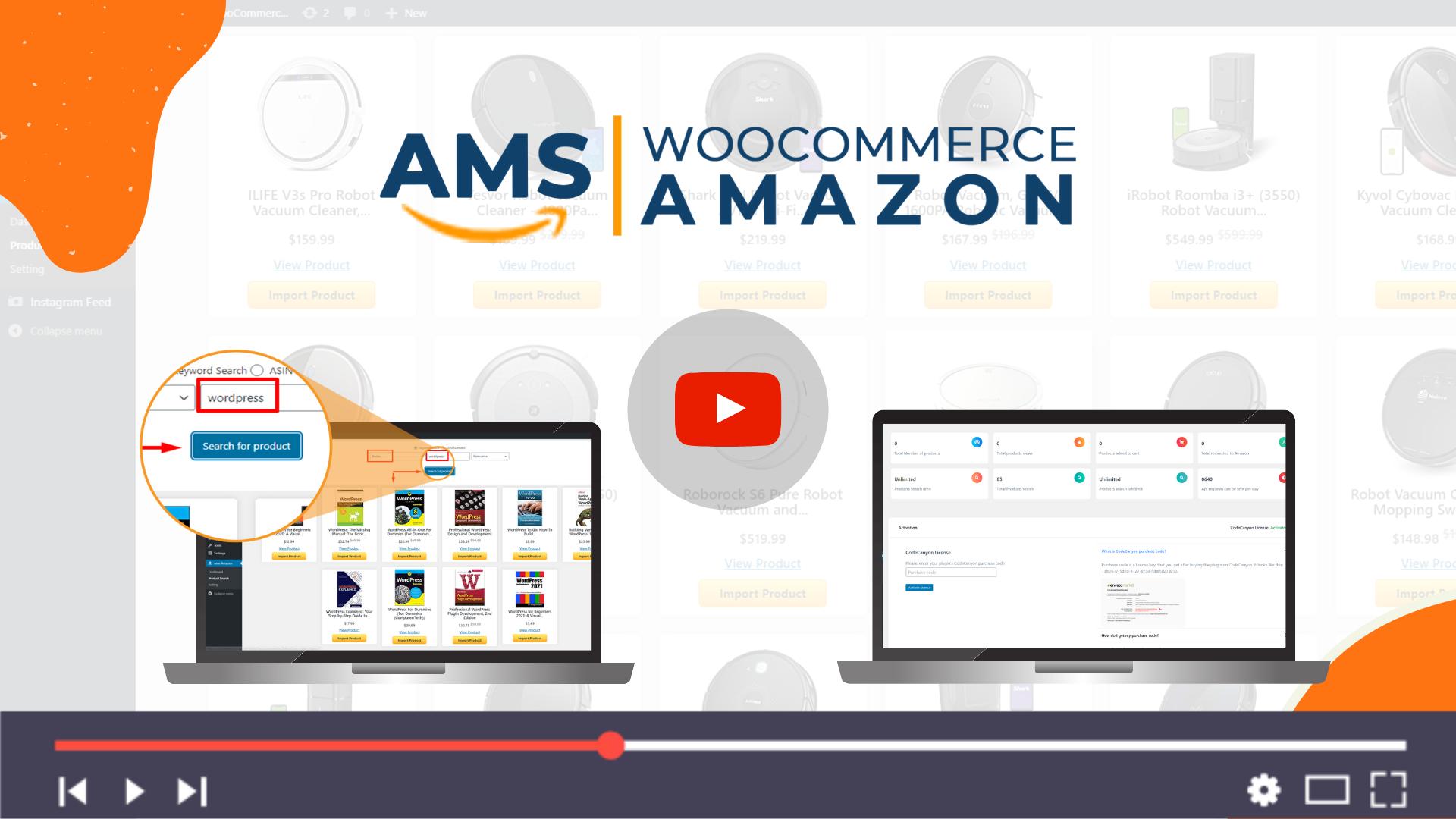 Affiliate Management System - WooCommerce Amazon - 1