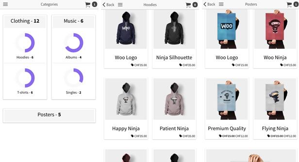 Ionic WooCommerce API - PhoneGap / Cordova Full Hybrid App - 5