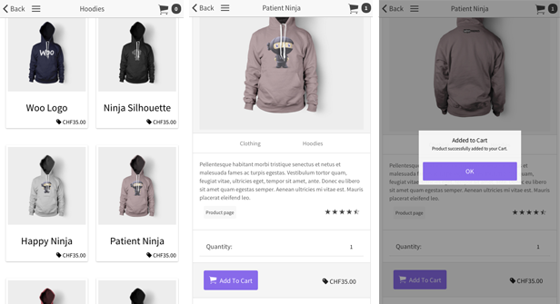 Ionic WooCommerce API - PhoneGap / Cordova Full Hybrid App - 6