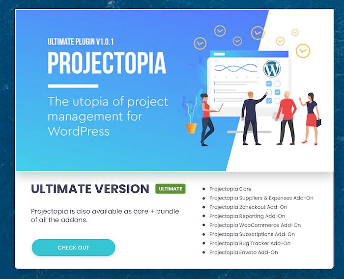 Projectopia - WordPress Project Management Plugin - 4