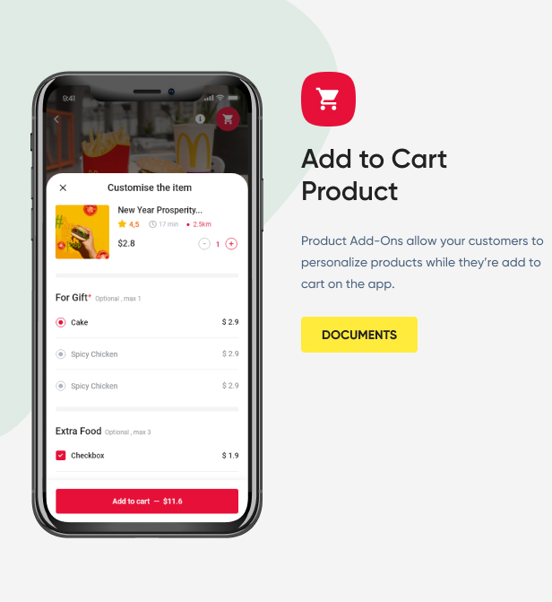 Add to Cart Product