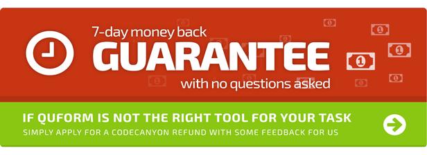 7 day money back guarantee