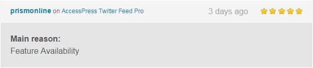 AccessPress Twitter Feed Pro - An Ultimate Twitter Feed Plugin to Generate Twitter Feeds - 7