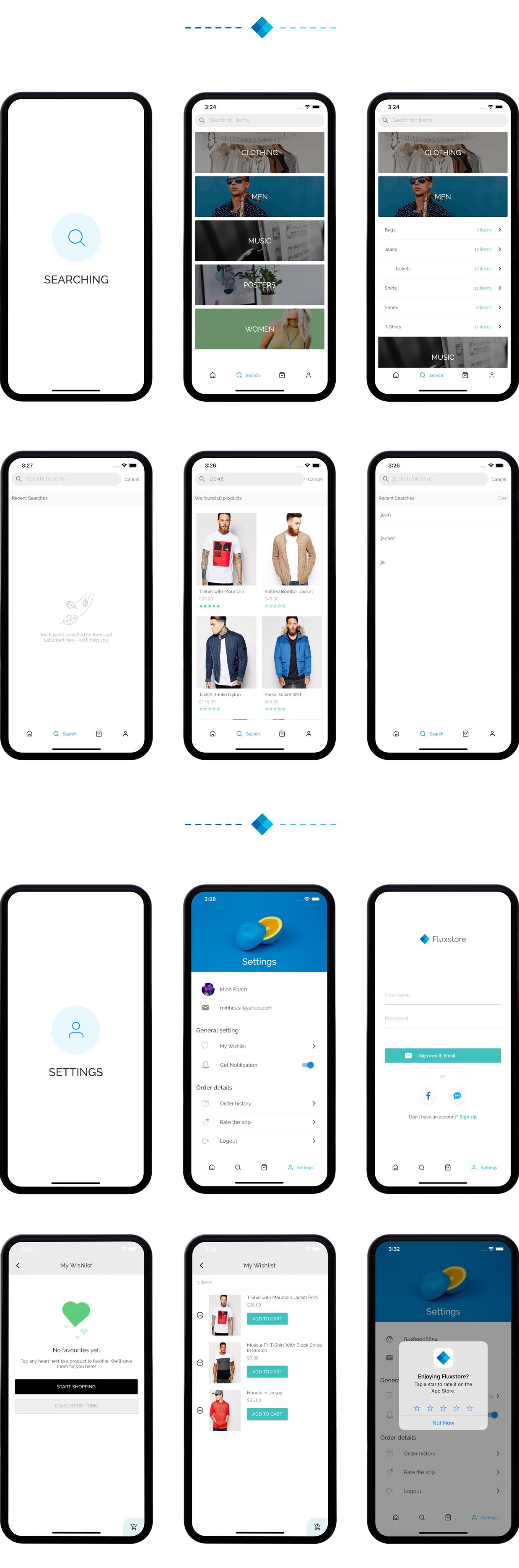 Fluxstore Multi Vendor - Flutter E-commerce Full App - 23