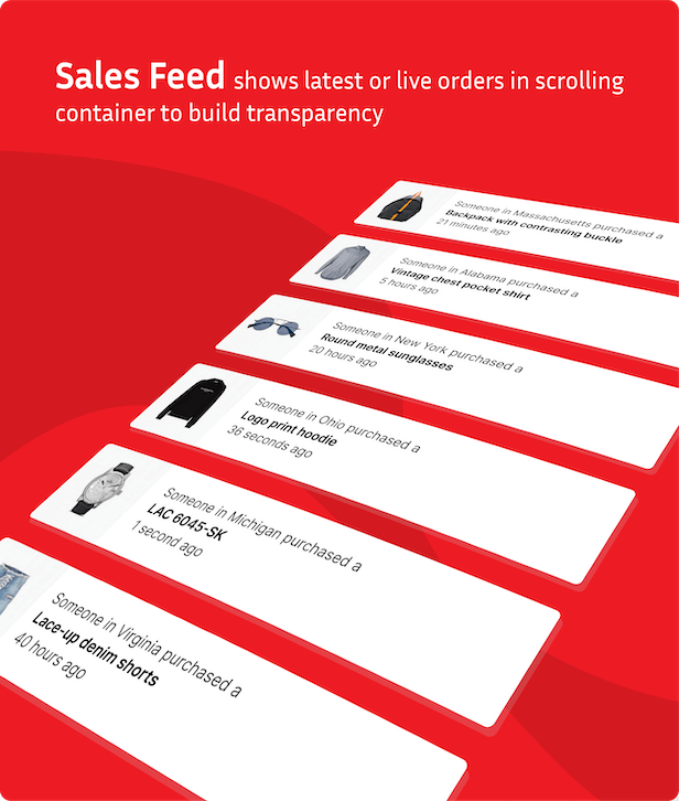Fommerce - WooCommerce Notifications & Sales Feed - 9