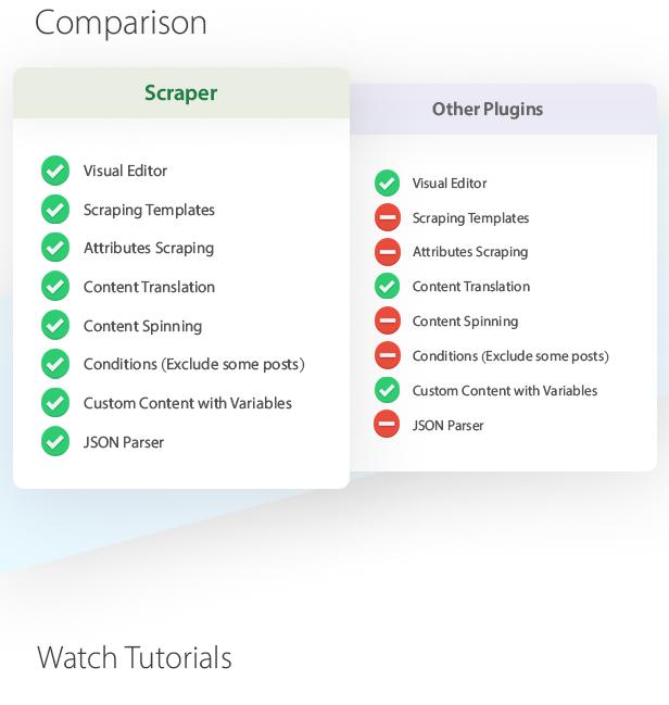 Scraper - Content Crawler Plugin for WordPress - 5