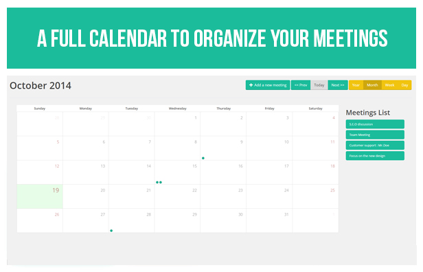 Screenshot WP Meeting Room