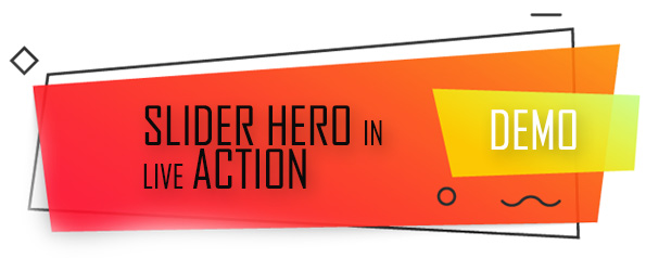 Slider Hero with Animation Effects, Video Background, Video Slider & Intro Maker - 1