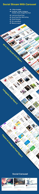 Social Streams - WordPress