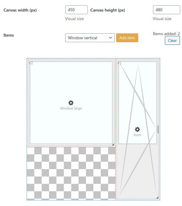Static canvas example