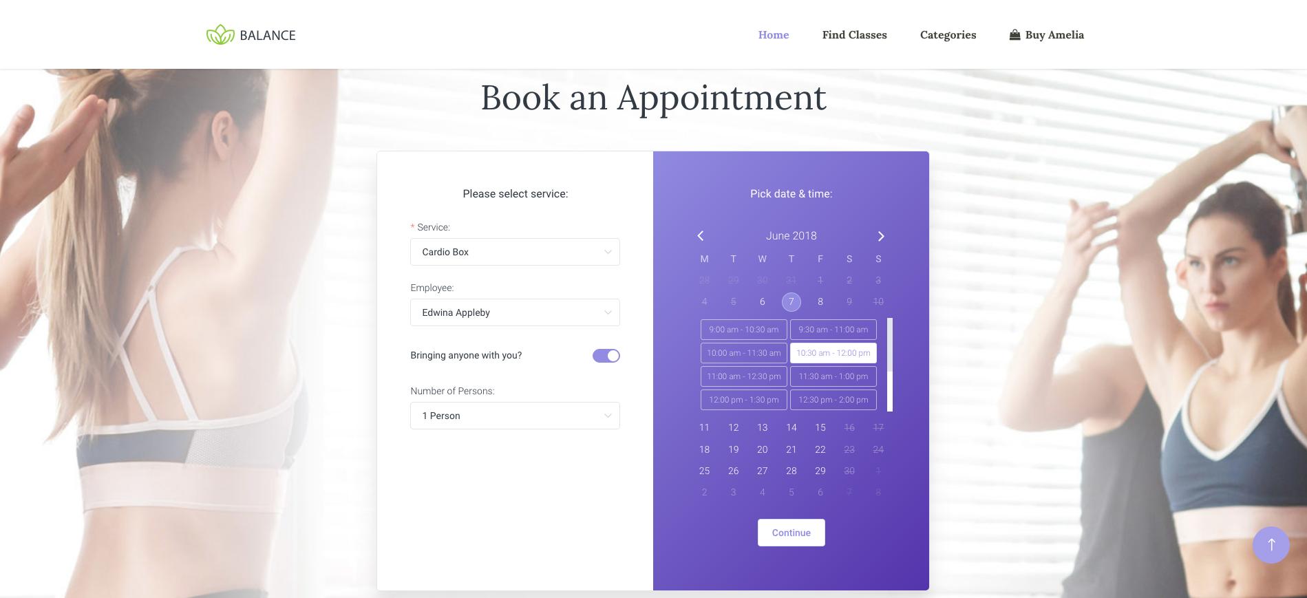 Amelia - Enterprise-Level Appointment Booking WordPress Plugin - 8