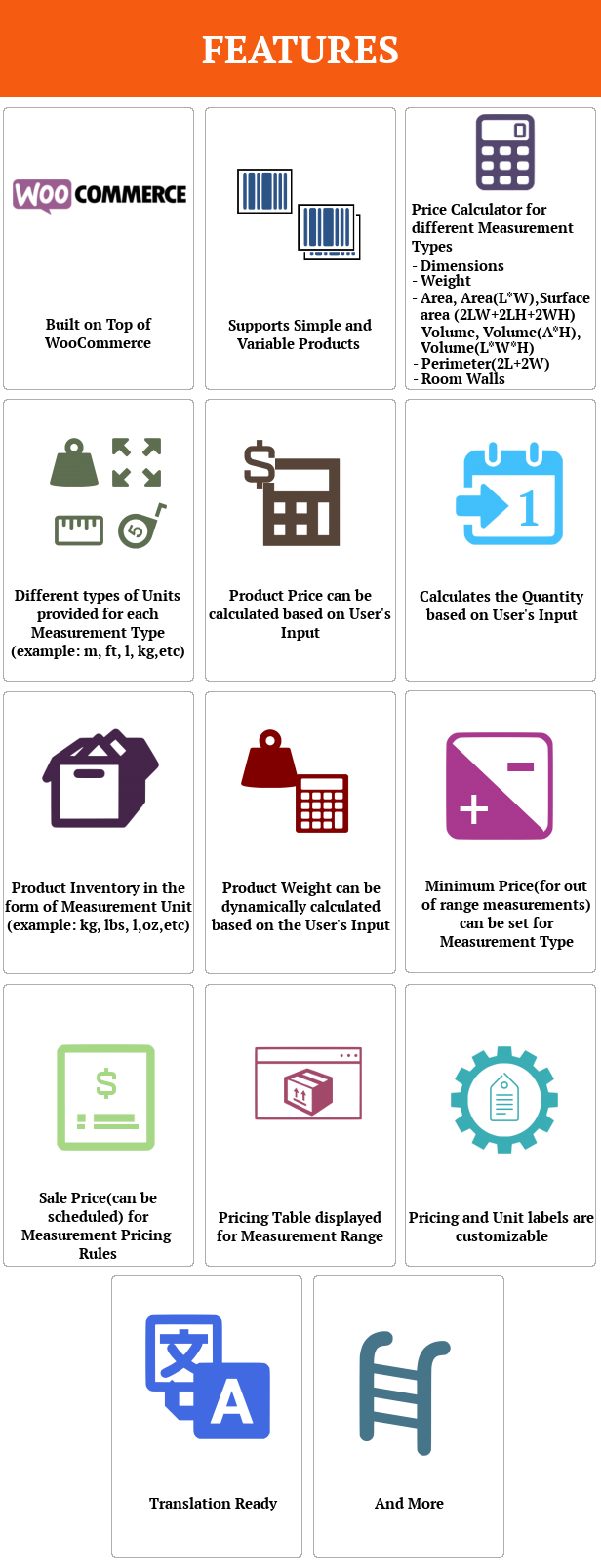 SUMO WooCommerce Measurement Price Calculator - 2