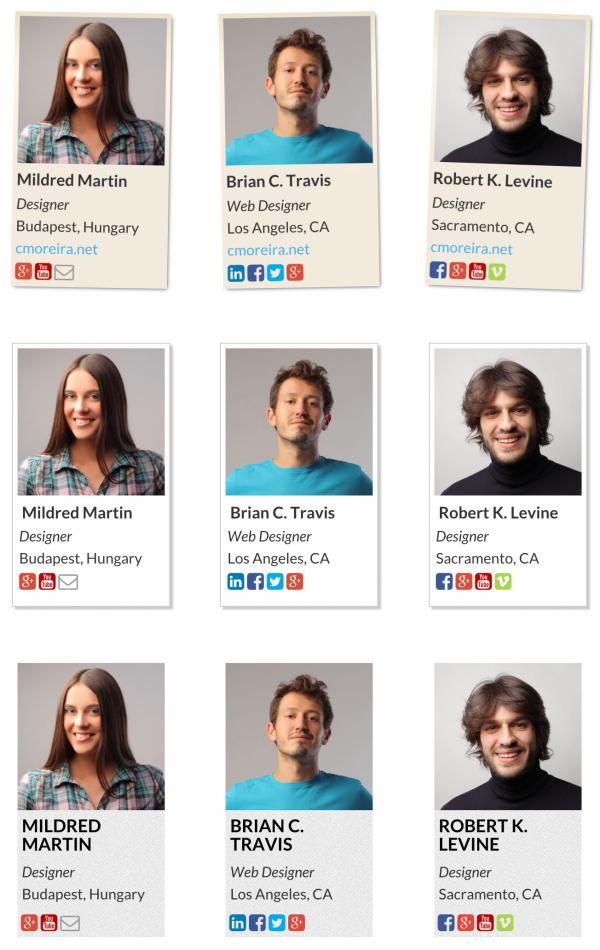 Team Showcase - WordPress Plugin - 6