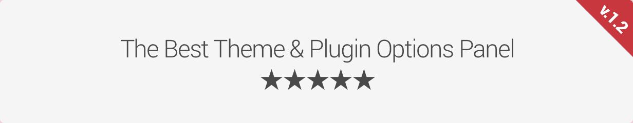 Whitelabel WordPress Theme & Plugin Options Panel - 1