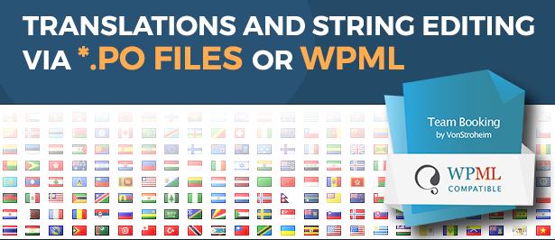 team booking wordpress plugin translations