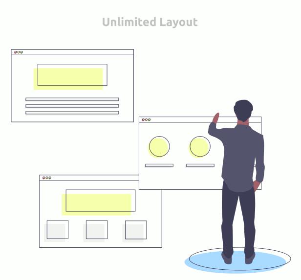 HayyaBuild Unlimited Layout
