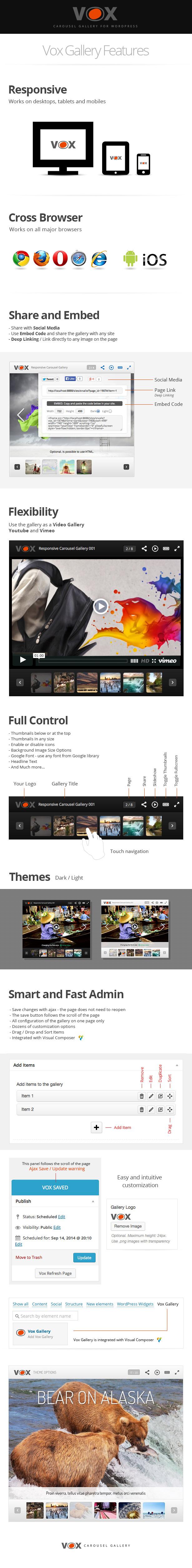 Vox Carousel Gallery for WordPress - 1