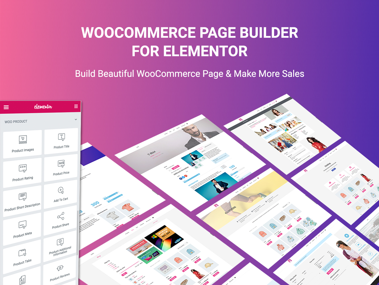 WooCommerce Page Builder For Elementor - 4