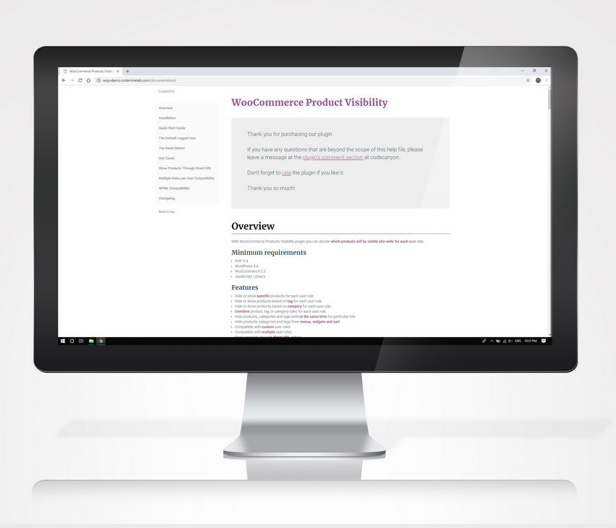 WooCommerce Hide Products, Categories, Prices, Payment and Shipping by User Role - 17