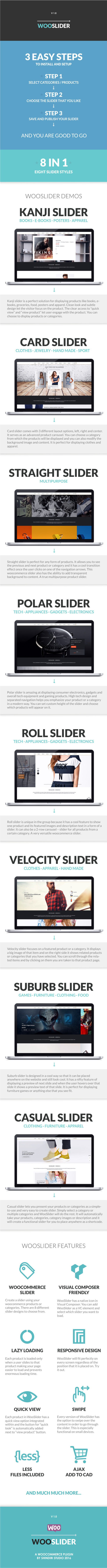 Woo Shop Slider - WooCommerce Slider For Products, Single Product and Categories - 1