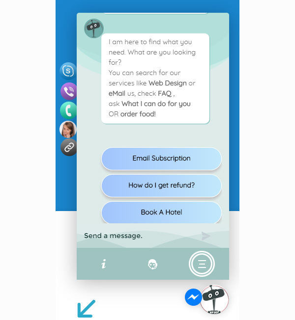 ChatBot for WooCommerce - Retargeting, Exit Intent, Abandoned Cart, Facebook Live Chat - WoowBot - 2