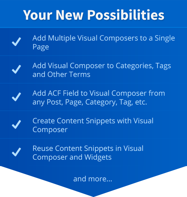 WP ACF-VC Bridge - Integrates Advanced Custom Fields and Visual Composer WordPress Plugins - 3