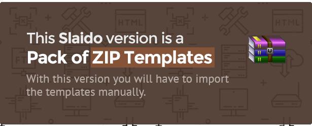 Slaido - ZIPs Pack for Slider Revolution - 1