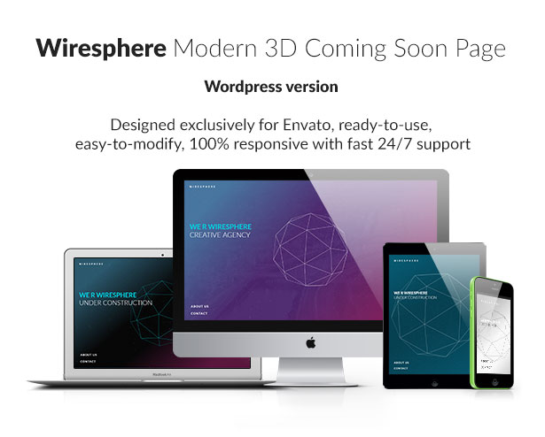 Wiresphere - Creative Coming Soon / Under Construction - 1